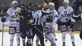 Swiss League, SC Langenthal - EHC Olten 23.10