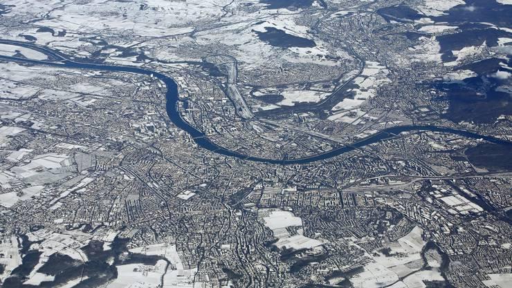 Die Stadt am Rheinknie erhält erneut die Bestnote «AAA» der Ratingagentur Standard and Poor's. (Archiv)