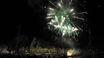 Das Silvesterfeuerwerk wird dieses Jahr um einen Drittel reduziert. (Archivbild)