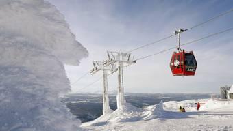 An der Ski-WM in Åre herrschen eisige Temperaturen.