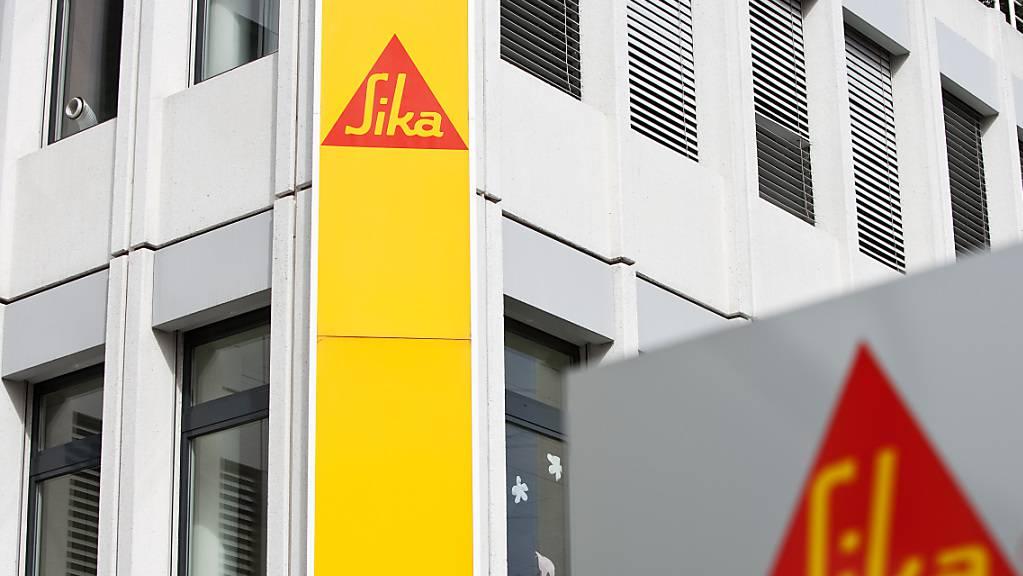 Der Bauchemiespezialist Sika baut das Mörtelgeschäft in Südamerika aus. Sika kauft den Mörtelhersteller Supermassa do Brasil. (Archivbild)