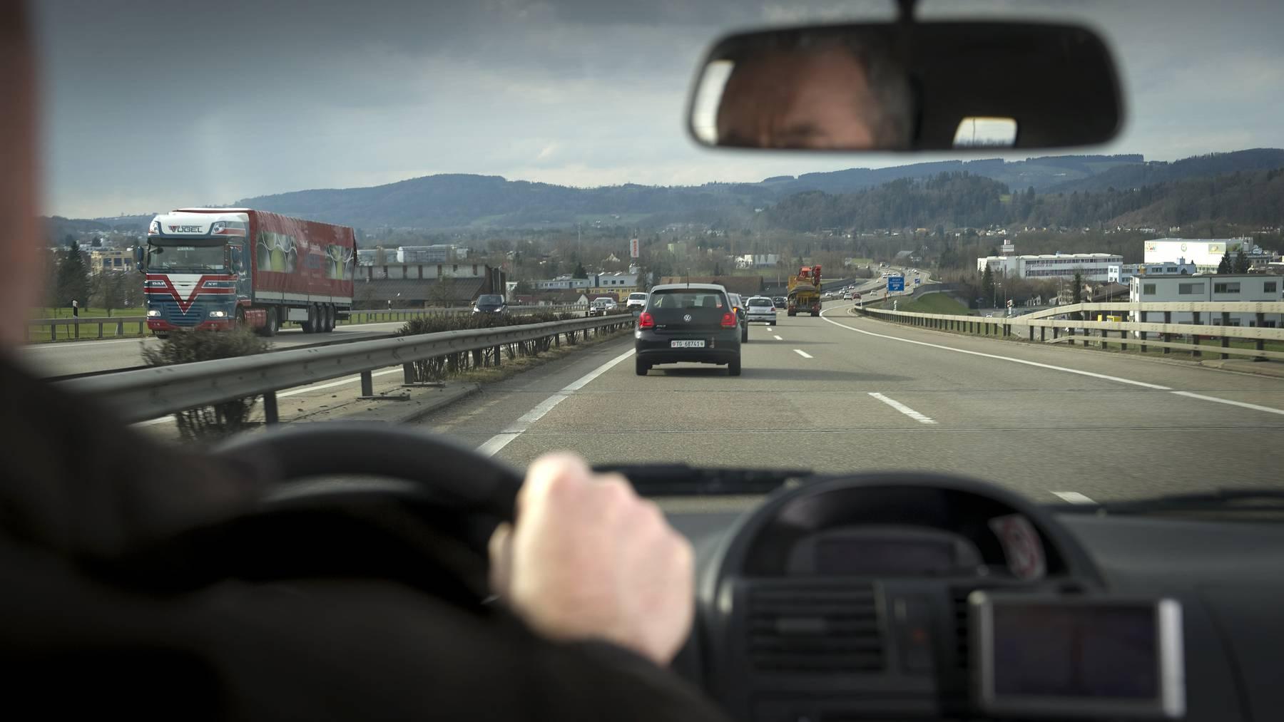 Die Autobahn zwischen Uzwil und Gossau wird teilweise gesperrt.