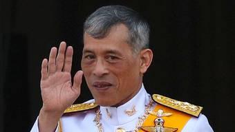 Exzentrischer Thai-König: Maha Vajiralongkorn.