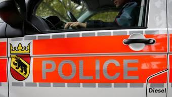 Detailansicht eines Dienstfahrzeug der Kantonspolizei Bern.