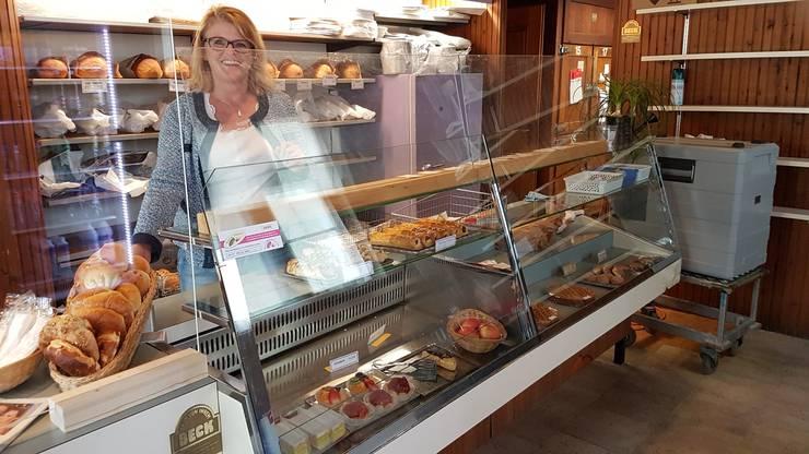 Wirtin Marie Therese Meier im Restaurant Zum Frohsinn