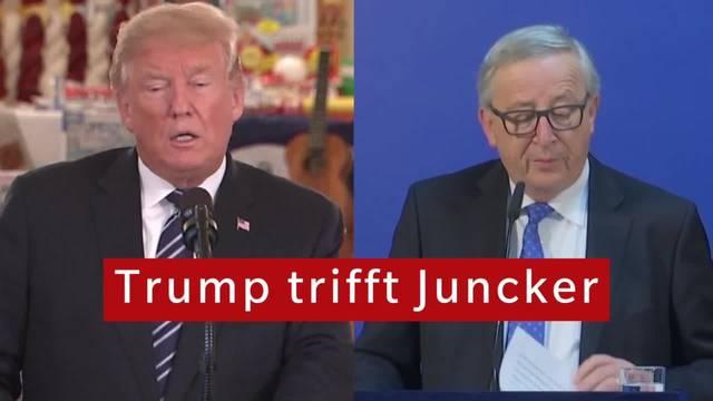 Trump trifft Juncker: Darum geht es