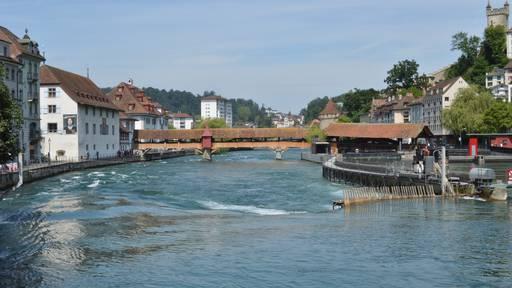 Die Spreuerbrücke - die kleine Schwester der Kapellbrücke