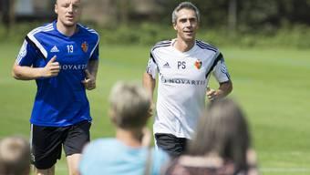 Der FC Basel hat mit dem Training begonnen