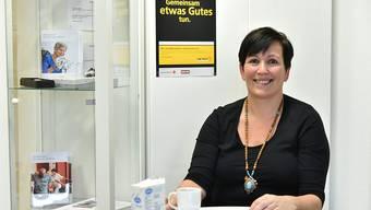 Renata Pfeiler, Leiterin der SRK-Regionalstelle in Olten und Koordinatorin von «2× Weihnachten» im Kanton Solothurn, ist zufrieden.