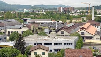 Blick auf die Dornacher Industrie.