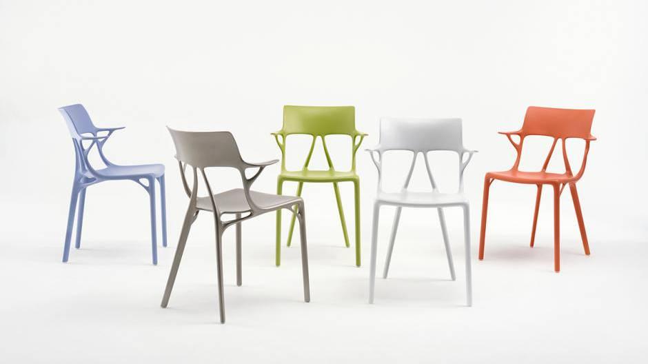 Dieser Stuhl wurde von künstlicher Intelligenz designt