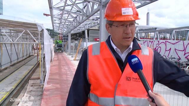 Zwischenbilanz bei der Baustelle Hardbrücke
