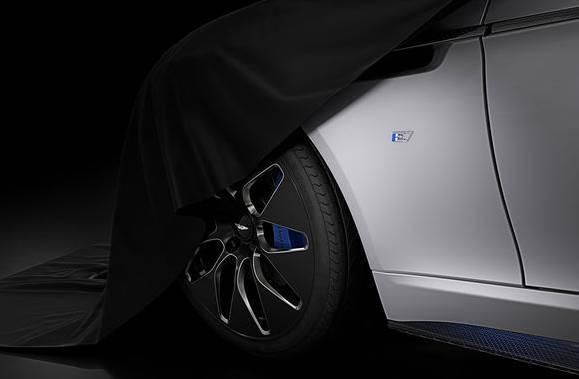 Ein erstes Teaserbild von James Bonds neuem Elektroauto.