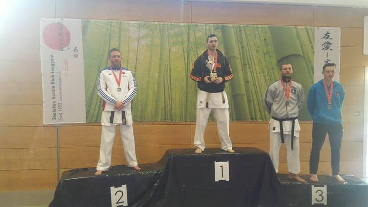 Ilija Letic von der Shinsei Kan Karateschule siegreich am 45. internationalen Fujimura Cup