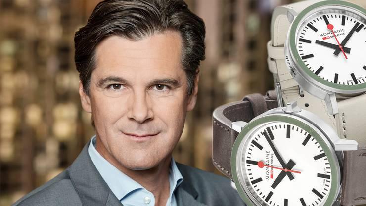Ziffernblatt als Ikone: Bernd Stadlwieser wird neuer CEO von Mondaine.