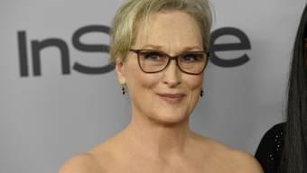 Sie witzelte über Mariah Careys Stuhl-Panne an den Golden Globes: Schauspielerin Meryl Streep.