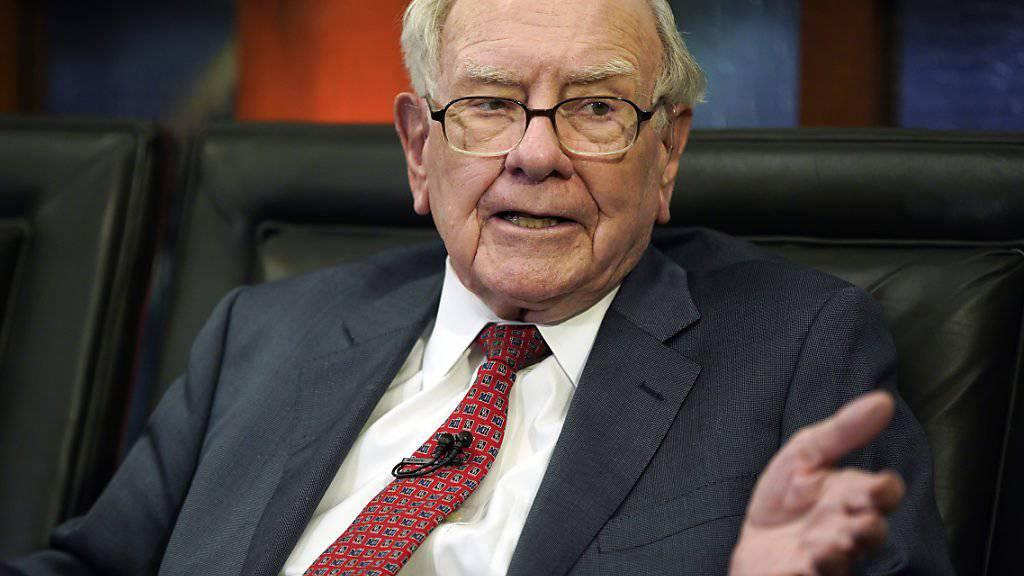 US-Investor Warren Buffett wollte offenbar mit über drei Milliarden Dollar beim Fahrdienst Uber einsteigen. (Archivbild)