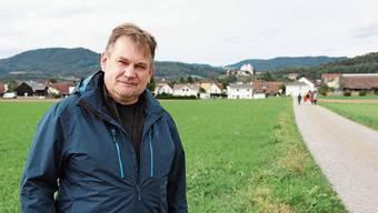 Der 55-jährige Beat Fehlmann ist Gemeinderat in Möriken Wildegg.