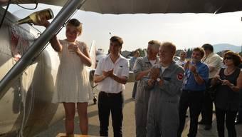 Grenchen ist um ein Kulturdenkmal reicher: 83-jährige Dewoitine getauft