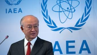 IAEA-Chef Yukiya Amano spricht in Wien zu Beginn des IAEA-Gouverneursrates über verschiedene Themen.