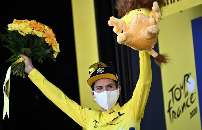 Will das gelbe Trikot verteidigen: Primoz Roglic.