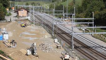 Station Effingen 2016 und 2019