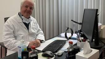 Rainer Hurni verimpft ab Donnerstag den Moderna-Impfstoff.