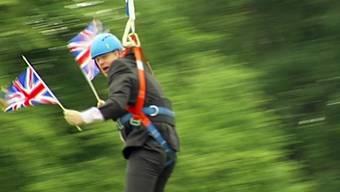 Comeback des Blondschopfs: Der extrovertierte Londoner Ex-Bürgermeister Boris Johnson ist neuer Aussenminister Grossbritanniens.
