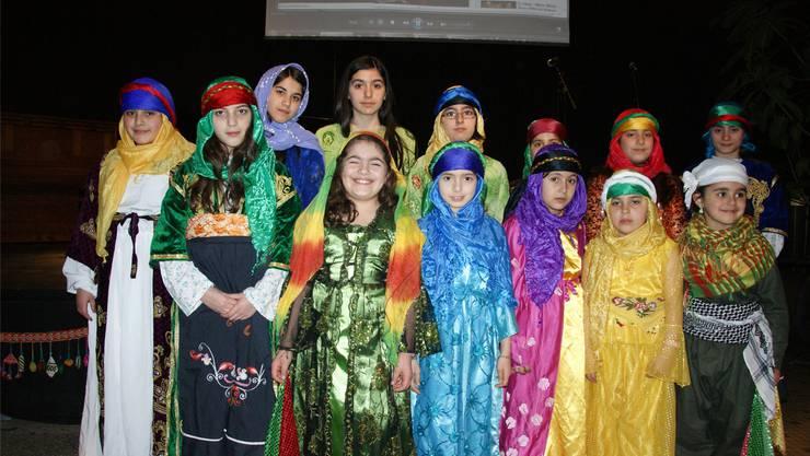 Die kurdische Tanzgruppe «Koma Zarok» bei der letztjährigen Frühjahrswoche.