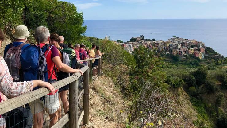 Wandern in der Cinque Terre.