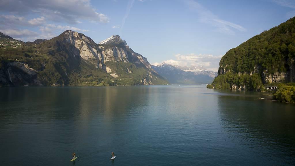 Klimafreundliche Wärmeversorgung: Der Kanton St. Gallen senkt ab sofort die Gebühren für die Wärmenutzung aus Seen. (Archivbild)
