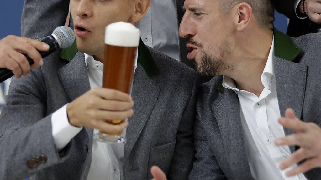 Bei Bayern München herrscht vor Beginn des Oktoberfests nicht Friede, Freude, Eierkuchen