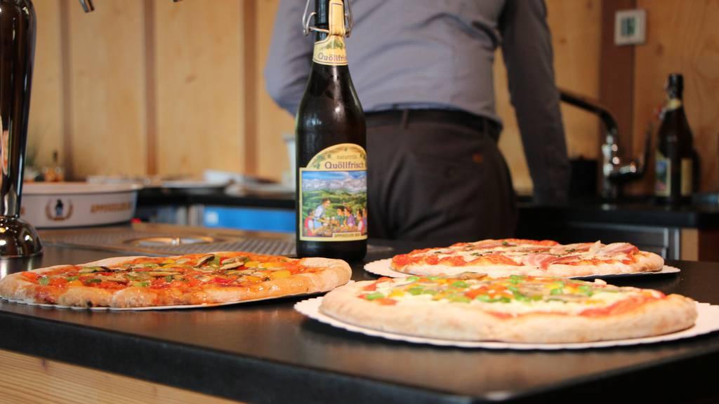 Pizza aus Bierabfällen: Brauerei geht unter die Bäcker
