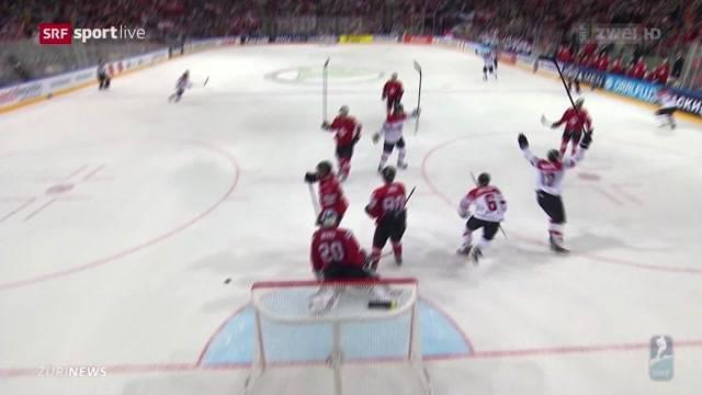 Schweiz verliert bei Eishockey-WM