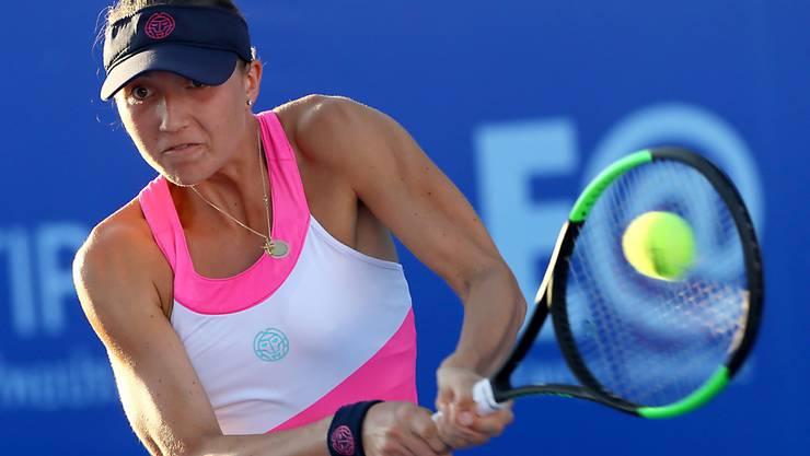 Leonie Küng bezog beim Wiederbeginn der WTA in der Qualifikation von Palermo gleich eine Niederlage