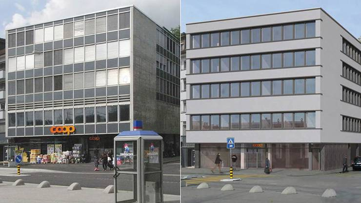 Rosengarten vor und nach der Sanierung.