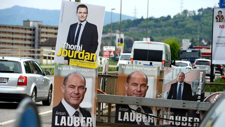 Dank dem frischen Geld der Wirtschaftskammer könnte Anton Lauber – wie hier an der Rheinstrasse – bald noch präsenter werden.