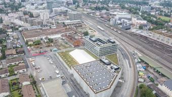 Kann am Samstag und Sonntag besichtigt werden: Der neue Eniwa-Komplex an der Industriestrasse in Buchs.