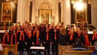Man spürte in der Kirche Deitingen die Freude am Singen bei den Mitgliedern des Gospelchors.