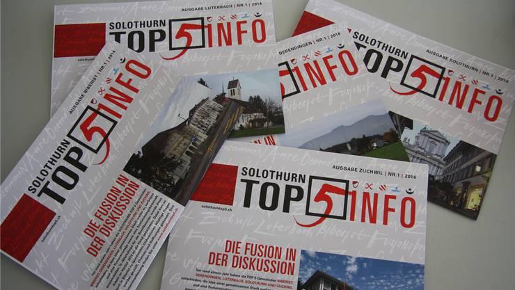 Die im Gemeinderat Luterbach vertretenen Parteien lassen sich nicht in die Top5-Karten schauen.