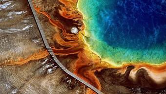 Naturschauspiel im Yellowstone Nationalpark