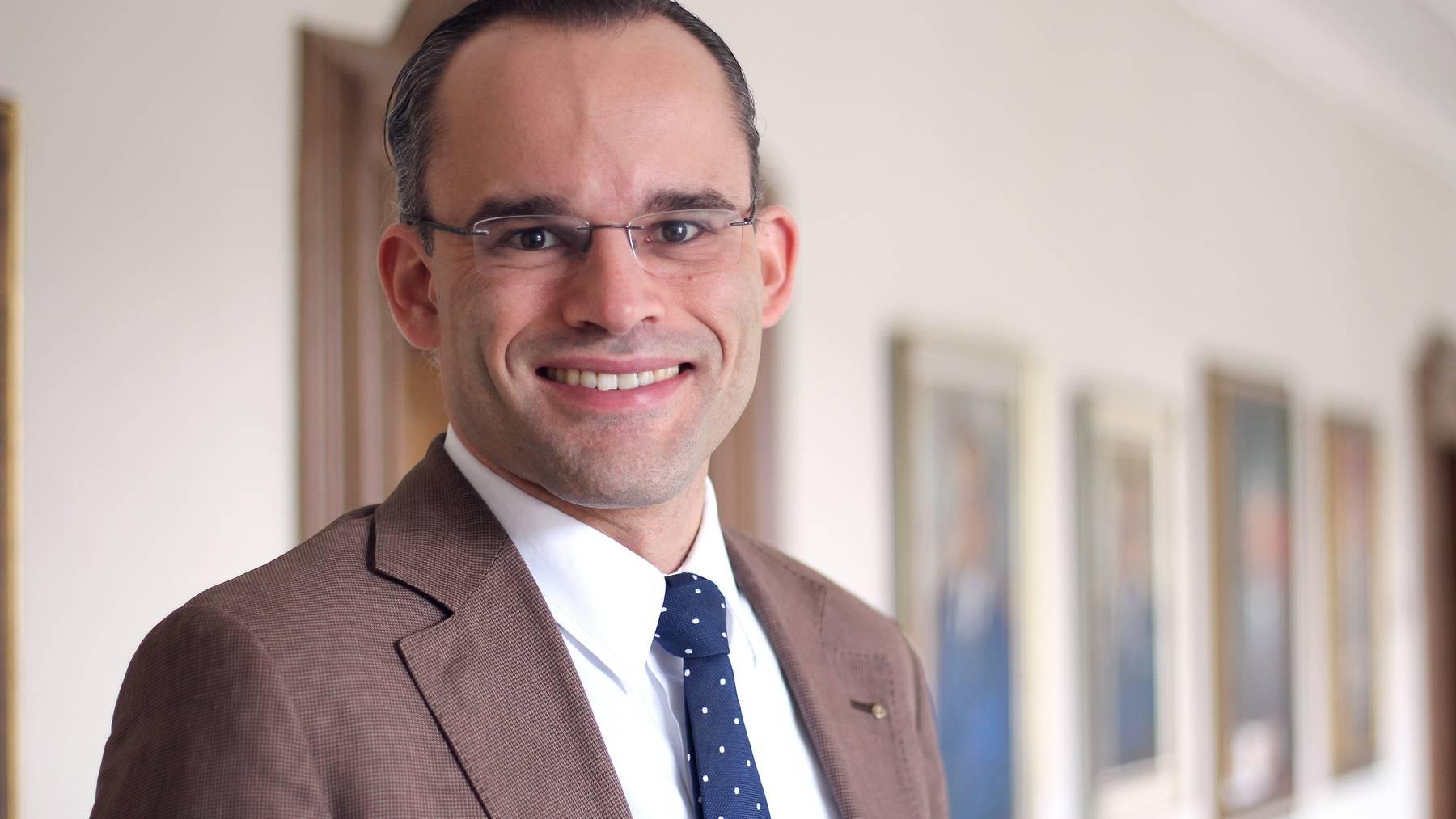 Wenn im Kanton St.Gallen Wahlen oder Abstimmung auf dem Programm stehen, ist er nicht weit: Staatssekretär stv. Benedikt van Spyk.