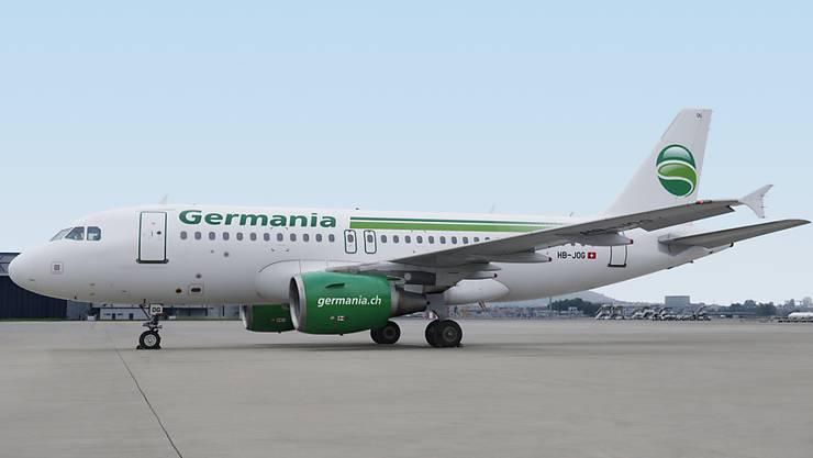 Die Schweizer Fluggesellschaft Germania Flug AG liegt nun vollständig in Händen von Schweizer Besitzern. Bisher gehörten 40 Prozent der Anteile der inzwischen Konkurs gegangenen deutschen Germania. (Archivbild)