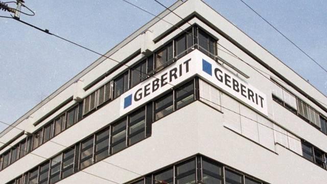 Der Sitz von Geberit in Jona SG (Archiv)