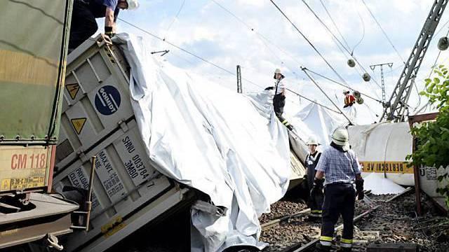 Nach dem Unfall im Bahnhof Müllheim ist ein Gleis wieder frei (Archiv)