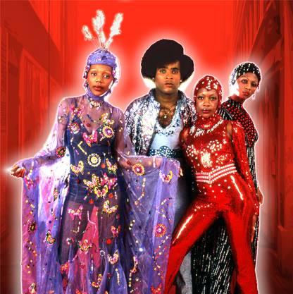 Die Gruppe Boney M., hier in Originalbesetzung der 70er-Jahre, tritt im Juli am Schützi-Open-Air in Fahrwangen auf. sony