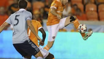 Philippe Senderos durfte bei Houston erst zum dritten Mal von Beginn weg spielen