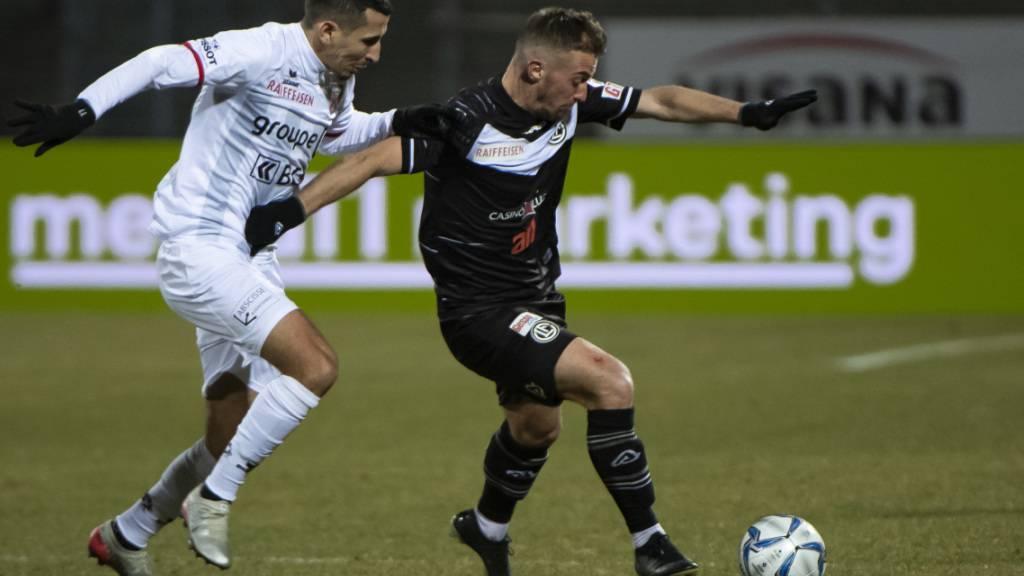 Marco Aratore (rechts), hier noch im Tenü des FC Lugano