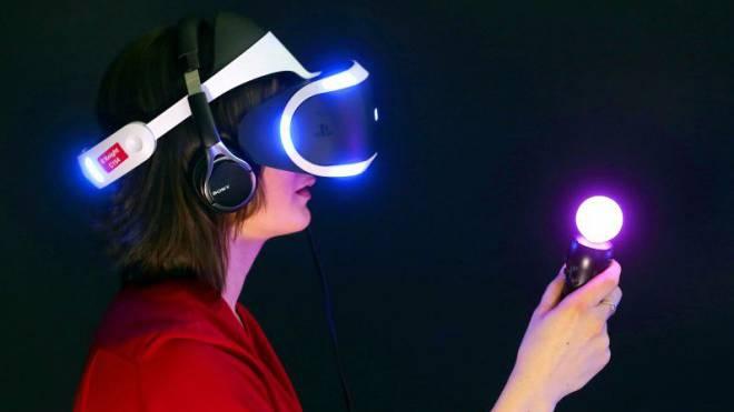 «Project Morpheus» von Sony: Mit dieser neuen Technologie lassen sich die Sinne täuschen. Foto: Keystone