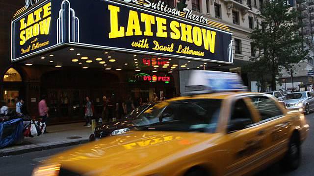 Berühmt: die Late-night-Show von David Letterman